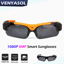 VENYASOL HD 720P/1080P Smart Glasses camera Polarized DV Mini  Sunglasses Action Sport driving Video Recorder Camcorder Cam
