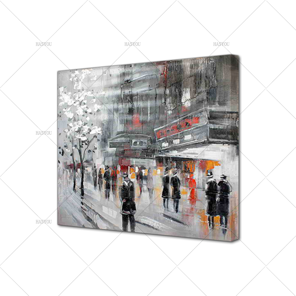 Unframed-Abstract-Modern-Landscape-New-York-City-Street-View-Handmade-Oil-Painting-On-Canvas-Home-Decor (4)