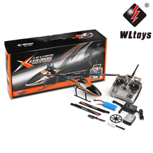WLtoys V950 Motor 2.4G 6CH Compatibility 3D/6G Gyro System Single Blade Flybarless Brushless Motor RC Helicopter RTF Ourdoor Toy(China)