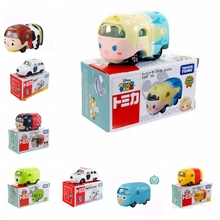 Tomica Tomy Tsum Tsum Cartoon Diecast Metal Cars model toy Motors Gifts(China)