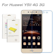 3pcs/Lot For Huawei Y5 II 4G 3G  High Clear LCD Screen Protector Film Screen Protective Film For Huawei Y5 II