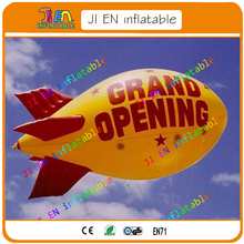 GRAND OPENING INFLATABLE HELIUM BLIMP / inflatable helium balloon in sky for advertising / flying Helium Blimp/Airship/Zeppelin