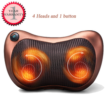 220V and 12V cervical household car multifunctional button neck massage electric massage pillow back cushion body neck waist