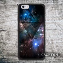 Deep Blue Nebula Triangle Case For iPhone 7 6 6s Plus 5 5s SE 5c and For iPod 5 High Quality Classic Phone Cover Wholesale