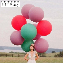 36 inch Balloon Giant Gold Wedding Decoration Latex Big Balloons Happy Birthday Party Supplies Inflatable Helium Air Balls 1 PCS(China)