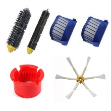 6 Armed Side Brush + AeroVac Filter + Cleaning Tools for iRobot Roomba 600 Series 610 620 630 650 660 Vacuum Cleaner Parts