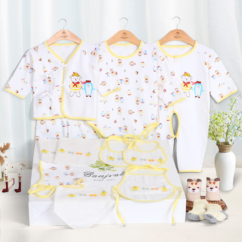 11pcs/set newborn baby boy girl clothes Seaworld style clothing for babies<br>