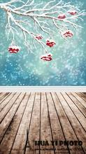 5x7ft 150*220CM Christmas Photography Backdrops  Art Fabric Newborn Pet Baby Christmas Tree Fireplace Photo Backgrounds D-157