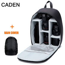 Caden Camera Case Shoulders Photo Bags Waterproof Polyester Black Army Green Backpacks Backpack For Canon Nikon Camera Case D7