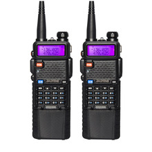 2pcs/lot Baofeng UV-5R 3800mAh 5W Walkie Talkie VHF UHF 136-174 / 400-520MHz UV5R Two Way Radio Communicator FM Transceiver(China)