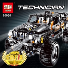 Bevle Store LEPIN 20030 1132Pcs Technic Series Electric motor Super sport utility vehicle Building Blocks Bricks Toys 8297(China)