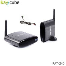 PAT 240 AV Sender &IR Remote Extender Wireless Transmitter 250 2.4ghz Wireless Av Sender PAT-240 Kaycube(China)