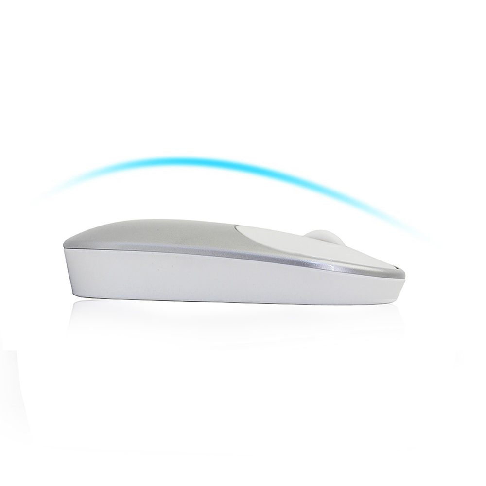 8b3e56e3235 CHYI Wireless Computer Mouse Mute Silent Click Mouse 1600DPI Optical ...