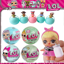 LOL Dolls Surprise Ball LQL Magic Funny Interactive Eggs Toys Action Figure Baby Girls Dress Up Toys For Children Christmas Gift(China)