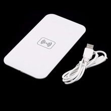 Qi Standard Wireless Charger Universal Charging Pad for iPhone/Samsung/Nokia/LG/Google Mobile Phone(China)