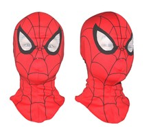Cosplay children and adult Spiderman mask /Spider-Man Gloves Cosplay Halloween Party Supplies Free shipping
