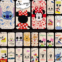 1PC Pattern Odd Smile Face Pretty Bow Silicon Phone Shell For Apple iPhone 5C iPhone5C Case Cases Cover 2017 Magic Hot Sold New