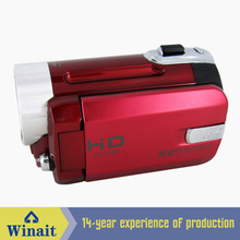 Winait cheap digital video camera DV-009 12mp 4X digital zoom rechargeable lithium battery digital video camcorder(China)