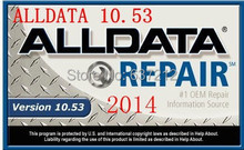 Auto Repair Software Alldata 10.53 +Vivid WorkshopData Repair Manual Full Set with HDD 640G