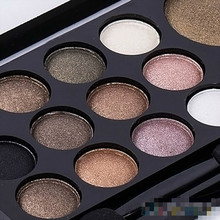 14 Colors Makeup Shimmer Eyeshadow Palette Cosmetic Neutral Nude Warm Eye Shadow 1pcs(China)