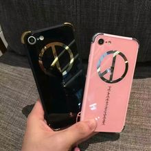 World Peace Logo phone Case For iphone7 7Plus 6 6s Plus Painting Peaceminusone Corners Shockproof Peace Anti-War Back Cover