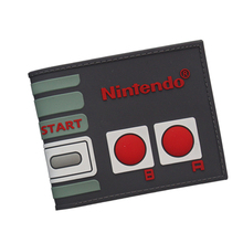 Nintendo Machine Wallets Simple Design PVC Short Wallet For Young Boys Girls Game Consoles Playstation Wallet Cool Student Purse(China)
