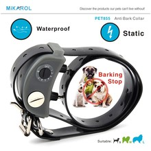 Anti barking collar small dog electronic collar waterproof dog stop bark terminator electric for puppy dogs