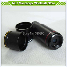 6 Sets/LOT 0.5X C Mount Lens Microscope Adapter for CCD CMOS Camera Digital Eyepiece, Relay Lens