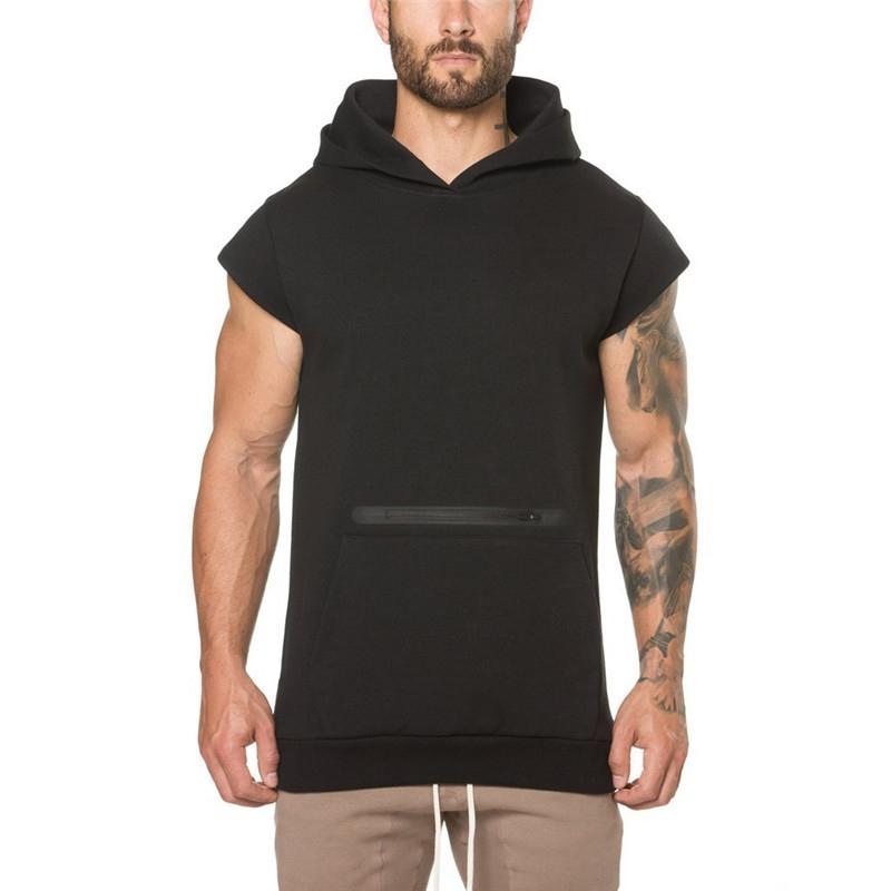 Camouflage fitness Men Sweatshirt-5