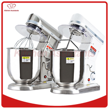 Electric commercial kitchen planetary food mixer blender mixer egg beater milk shaker bread spiral dough mixer machine