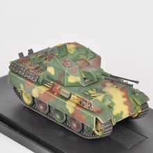 "Tank Model Toys Hobby Collections 1/72 Scale WWII Armor Plakpanzer V""Coelian"" Germany 1945 Dradon Model Gifts(China)"