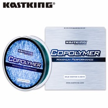 KastKing 275m Durable Monofilament Fishing Line Low Visibility Mono Nylon Line Leader Fishing Line for Lake River Fishing