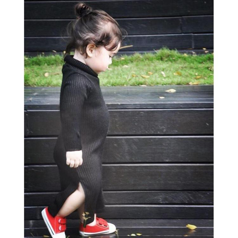 Baby Girl Clothes Autumn Winter Fashion Long Knit Dress Childen Party Dress For Girls Princess Dress Clothing Woolen Dresses<br><br>Aliexpress