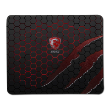 Hot Gaming MSI Logo Rubber Mouse Pad Notbook Computer Optical Stitched Edge Mousepad Gamer Speed Mice Play mat(China)