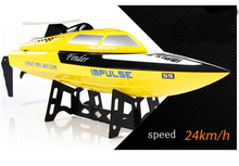 Free shipping Newest WL912 High Speed Racing RC Boat 25-30km/h RTF 2.4G Radio Control RC Remote Control boat as gift(China)