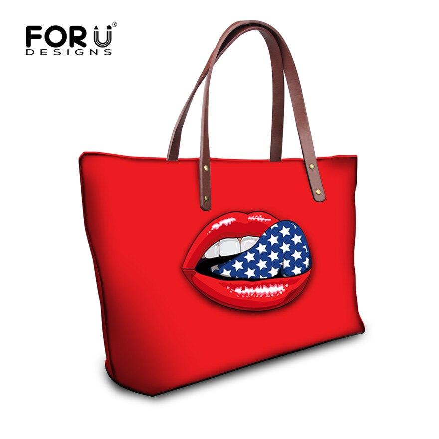 New Design Sexy Lips Design Women Shoulder Bag Large Capacity Female Travel Shopping Bag Brand Handbags Women Casual Tote Retail<br><br>Aliexpress
