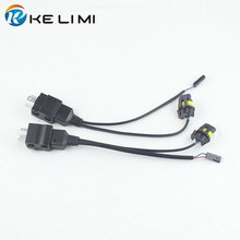 2x 12V Car Motorcycle HID Bi-Xenon H4-3 9003 HB2 H4 Hi/Lo All-in-one Controller Relay Connectors Wire Wiring Harness(China)