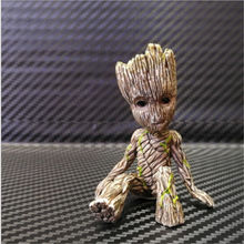 Baby Sitting Groot Figure Toy Gift(China)