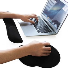 Comfort Gel Wrist Rest Mouse Pad Mechanical keyboard hand Pad Bracers Hand Pad Mousepad Gaming Mouse Pad Raised Platform Hands