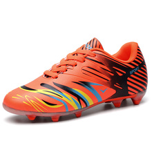 High Quality New Men Women Cheap Football Shoes Outdoor Long Spikes Teenager Kids Soccer Cleats Sports Shoes Training Sneakers