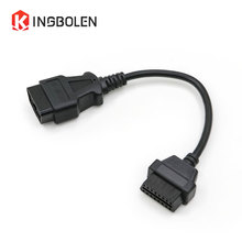 16 Pin Male To 16 Pin Female OBDII Extension cable OBD2 Connector 16Pin male to 16pin female diagnostic tool ELM327 OBD extend(China)