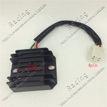 AC 12V 4 Pins Wires Voltage Regulator Rectifier GY6 CG CB 150cc 200cc 250cc ATV Quad Moped Scooter Buggy Motorcycle Motorbike