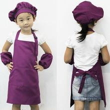 Hot Cute Kids Children Kitchen Baking Painting Apron Baby Art Cooking Craft Bib Popular Practical Aprons High Quality