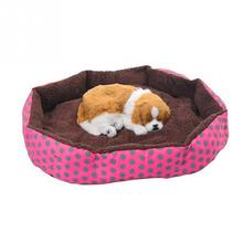 Pet Dog cat Warm Soft Sleeping Bag Bed Dog Kennel Cat Bed Cave Cushion Cute Nest Mat Pet Accessories