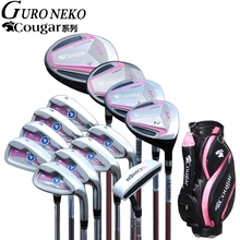 Golf brand Cougar. Ladies women golf irons clubs complete golf sets Women golf clubs full set half mini