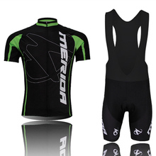 Merida Cycling Jersey 100% Polyester Breathable Cycling Clothing Short Sleeve Maillot Ciclismo /Quick Dry Mountain Bike Clothes(China)