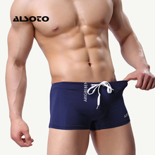 Buy New Swimwear Men Swimsuit Men's Swimming Trunks Swim Suit Boxer Briefs Swimming Swim Shorts Trunks men swimwear Pants desmiit