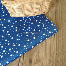 160*50CM Navy Blue Aom & Kong Print Cotton Fabric Telda DIY Tissue Patchwork Telas Sewing Baby Toy Quilt Bedding Textile Tecido