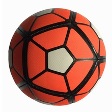 2017 Professional PU Leather Football Ball Champions League Soccer Ball Size 5 Football Sport Training Equipment Orange Green