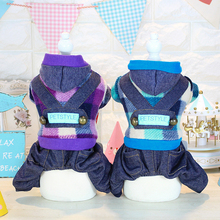Kawaii Pet Shop Korean Style Dog Jumpsuits Rompers Pet Clothes Dog Pajamas Clothes for Dogs Couple Dog Clothes Hot Sale 16ZF65